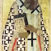 Иконостас Успенского собора во Владимире. Григорий Богослов. 1408. Андрей Рублёв.jpg